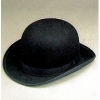 Black(Lg)Quality Wool Felt Derby